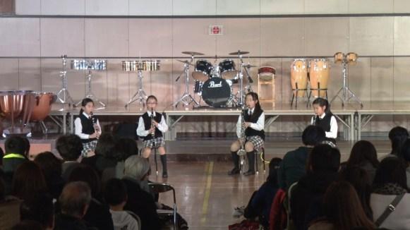 第2部・Ensemble & Guest Stage/クラリネット4重奏