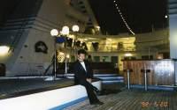 豪華客船の取材