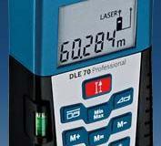 Alat Pengukur Jarak Digital Laser seri DLE70 merk BOSCH