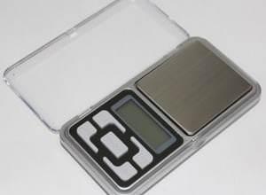 Timbangan Digital Emas, Lab Digital Pocket Scale 500g x 0.1 PST02