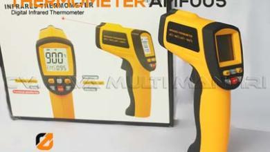 Thermometer Inframerah Digital seri AMF005
