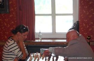 2010-06-09 žaibo turnyras: Dominyka Batkovskytė; Alvydas Rajunčius