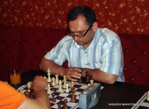 2010-06-09 žaibo šachmatų turnyras: Modestas Gečys