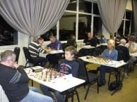 Šachmatų turnyro akimirka