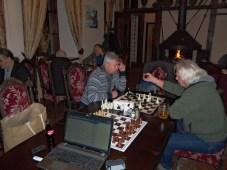 Šachmatų turnyras Užupio kavinėje