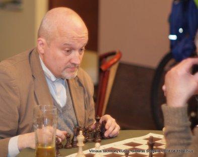 Gintaras Songaila; 2014-04-15; Vilniaus šachmatų klubas;