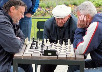 Audronis Balčiūnas vs Ferdinandas Janušauskas; žaibo šachmatai; Bernardinų sodas