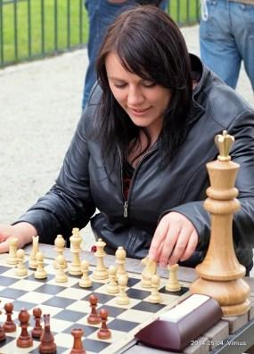 žaibo šachmatai; Bernardinų sodas