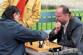 Audronis Balčiūnas vs Darius Matonis; žaibo šachmatai; Bernardinų sodas