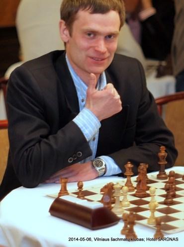 Andrius Mulevičius; Vilniaus šachmatų klubas
