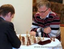 Julius Sabatauskas; Vilniaus šachmatų klubas