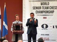 Artūras Zuokas; senjorų šachmatų komandų Pasaulio čempionatas