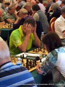 Boris Rositsan; senjorų šachmatų komandų Pasaulio čempionatas