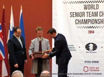 Donatas Pilinkus; Artūras Zuokas; senjorų šachmatų komandų Pasaulio čempionatas