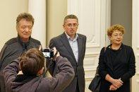 Faina Kukliansky – Lietuvos žydų bendruomenės pirmininkė; Boris Rositsan