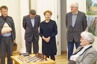 Faina Kukliansky – Lietuvos žydų bendruomenės pirmininkė; Vilius Kavaliauskas - Ministro Pirmininko padėjėjas; Boris Rositsan; Marija Kartanaitė