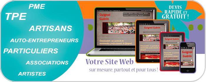 sites internet pour les entreprise, les associations et les particuliers