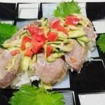 AGEレス西洋野菜の鰹丼