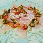 AGEレス・カレイのトマトバジルソース