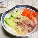 AGEレス、ブリと西洋野菜のマリネ