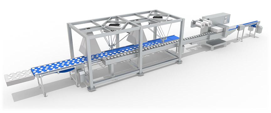 chargement robotisé agro alimentaire