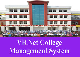 143 – VB.Net College Management System Project