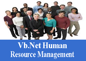 232 – Vb.Net Human Resource Management System Project