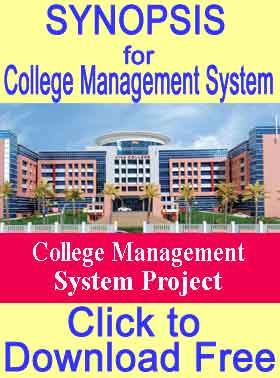Synopsis-College-Management