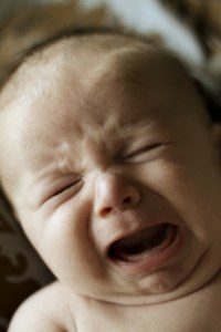 Everyone responds to a crying baby