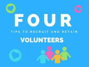 4 Ways to Recruit and Retain Volunteers for Your Fundraising Event