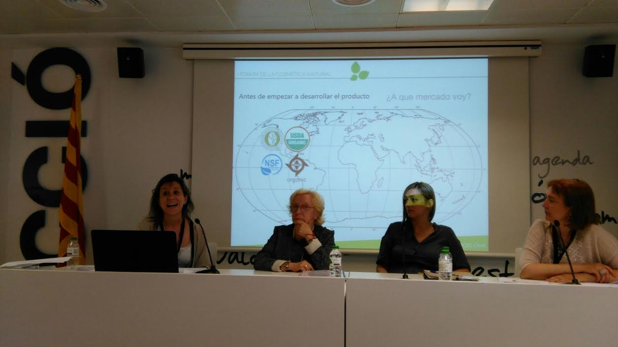 Mercè Camps participa en el Fórum de la Cosmética Natural de Beauty Cluster Barcelona