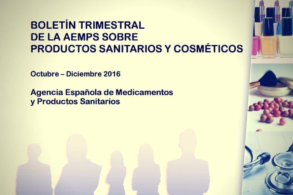 Boletín Trimestral de la AEMPS