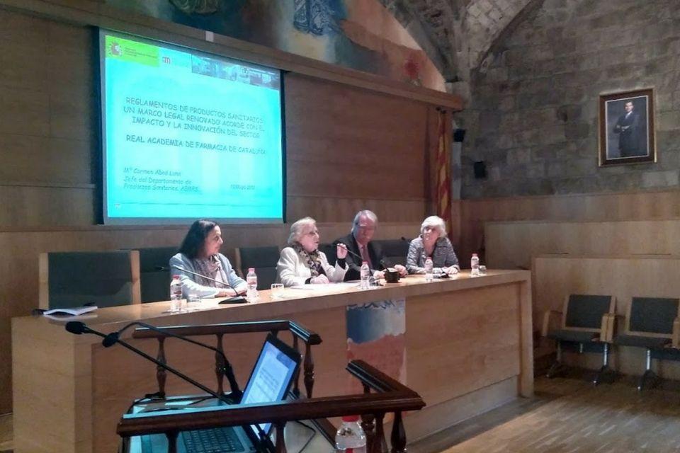 La Reial Academia de Farmacia organiza una sesión pública sobre Productos Sanitarios