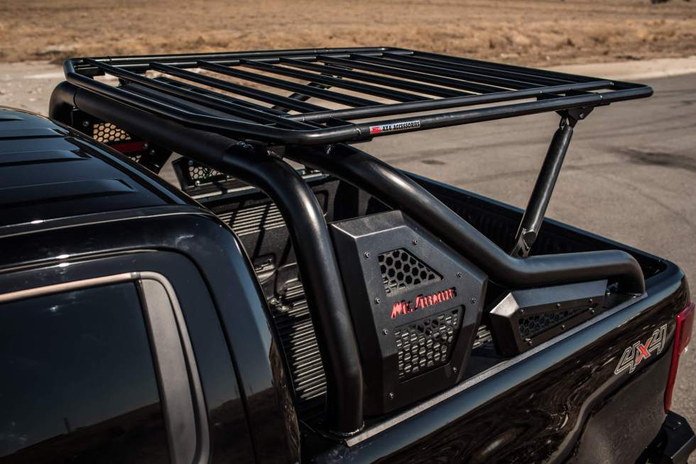 McArmor Hercules Extended Roll Bar with Roof Rack