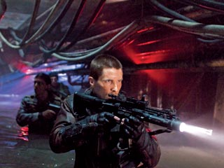 "I am John Connor, hear me whisper: Christian Bale can't quite revive the role in ""Terminator Salvation."""