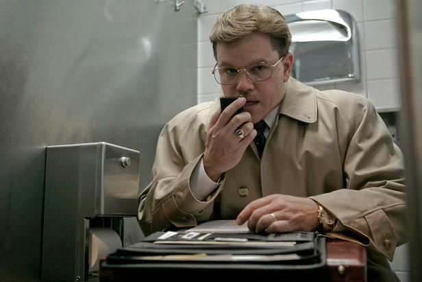 "Agent 007, listen up: You got nothin' on Mark Whitacre (Matt Damon), who blows the whistle on corporate price fixing in ""The Informant!"""