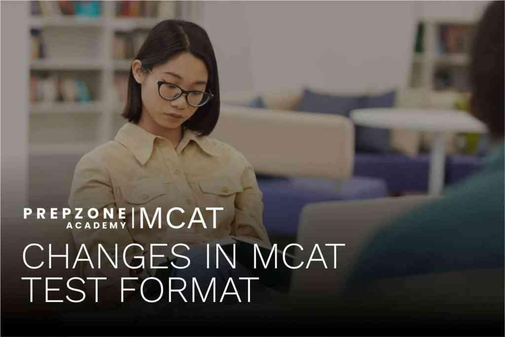 Changes in MCAT test format