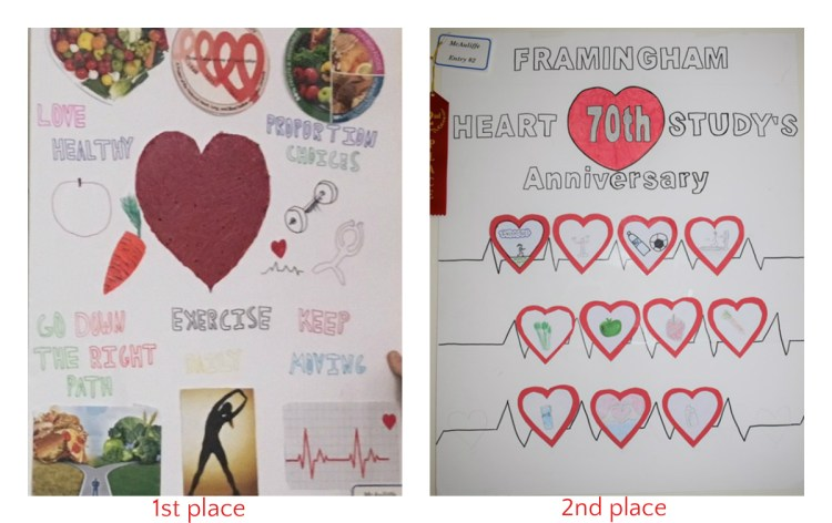Framingham Heart Study Poster Contest Winners | Christa McAuliffe ...