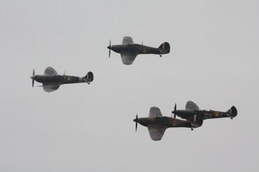 Hawker Hurricane Mk. I, Sea Hurricane Mk. X, Supermarine Spitfires LF. VB & Mk. IXT