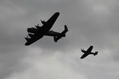 Avro Lancaster B.I & Supermarine Spitfire LF. XVIE