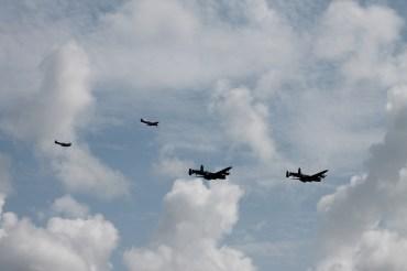 Avro Lancaster B.I, Avro Lancaster B.X & Supermarine Spitfires LF. XVIE & PR. XIX