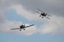 Junkers CL.1 & RAF S.E.5A Replicas