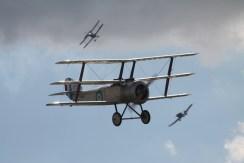Sopwith Triplane, Junkers CL.1 & RAF S.E.5A Replicas