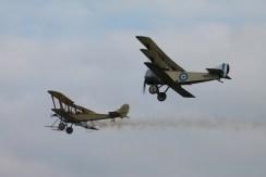 RAF B.E.2C & Sopwith Triplane Replicas