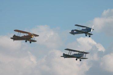 CASA 1-131E Jungmann, Stampe SV.4C & De Havilland DH.82A Tiger Moth II