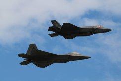 Lockheed-Martin F-22A Raptor & Lockheed-Martin F-35A Lightning II