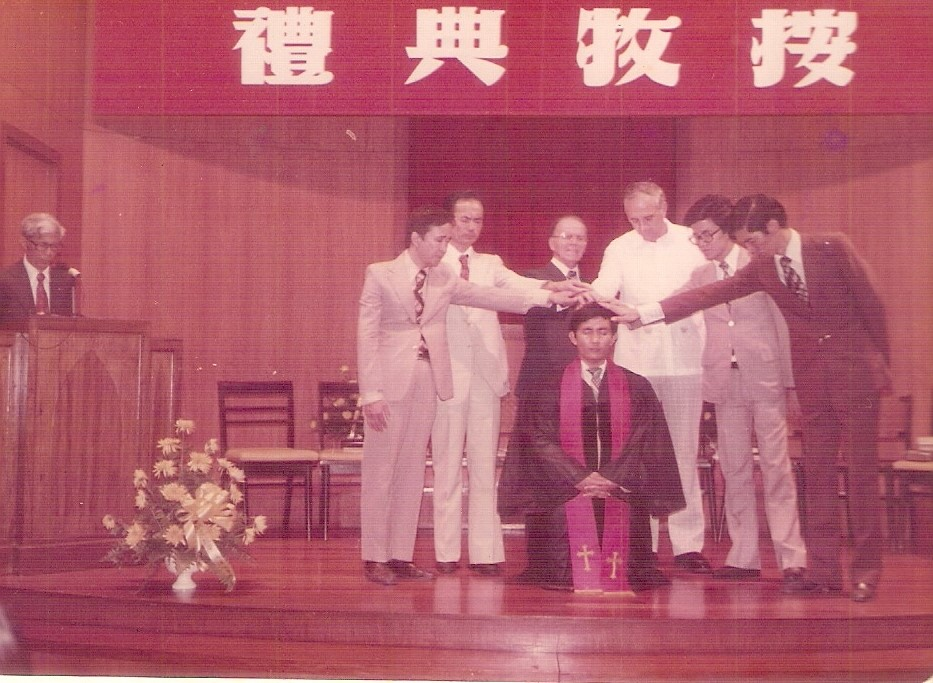 Rev. Romeo Yu ordination at Manila Chinese Baptist Church