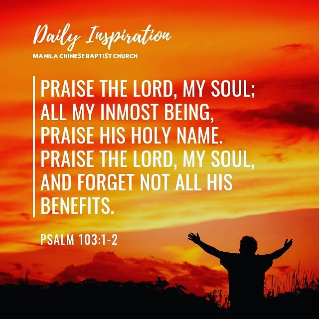 Praise the Lord, my soul; all my inmost being, praise his holy name. Praise the …