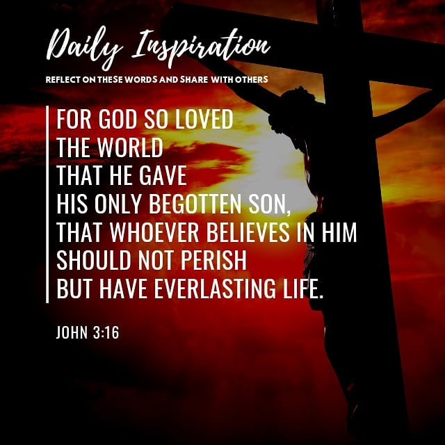 For God so loved the world that He gave His only begotten Son, that whoever beli…