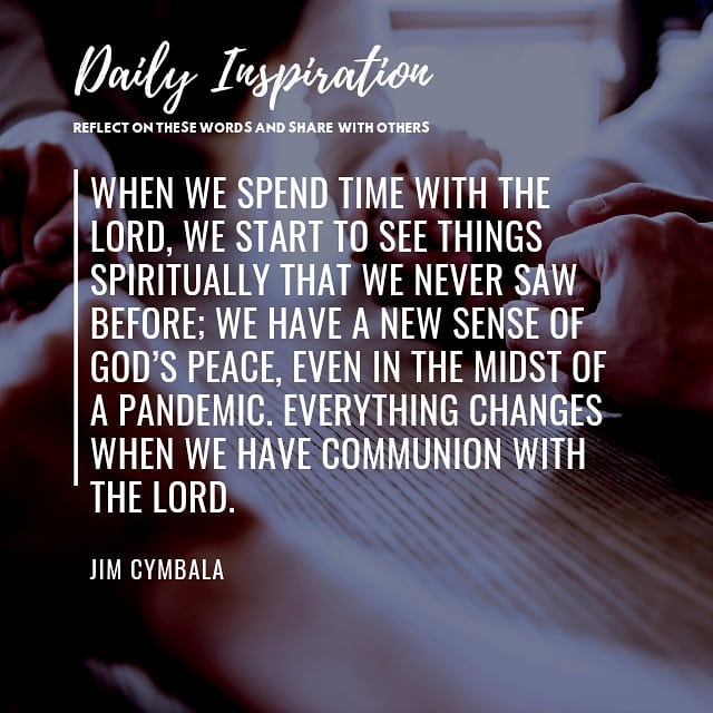 When we spend time with the Lord, we start to see things spiritually that we nev…